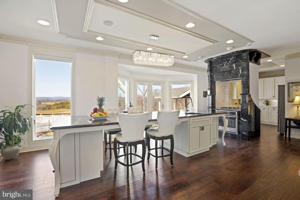 Great space for guests to congregate! - 15929 BRIDLEPATH LN, PAEONIAN SPRINGS
