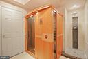 How about a sauna after a workout?? - 15929 BRIDLEPATH LN, PAEONIAN SPRINGS