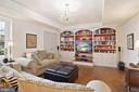 Living room - could also be a 6th bedroom?! - 15929 BRIDLEPATH LN, PAEONIAN SPRINGS