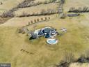Additional aerial photos ...Tennis Court & Pool! - 15929 BRIDLEPATH LN, PAEONIAN SPRINGS