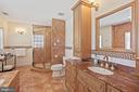 Spacious & elegant master bathroom #1! - 15929 BRIDLEPATH LN, PAEONIAN SPRINGS