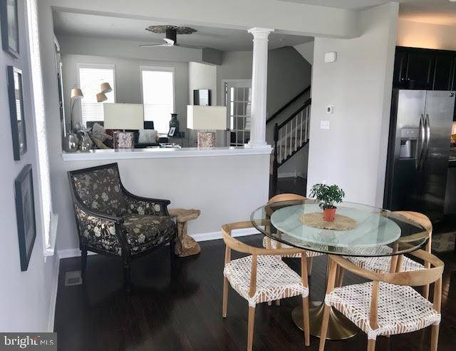 Dining area with lots of space to entertain - 9410 GEATON PARK PL, LANHAM
