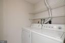 Laundry Room - 12209 PEACH CREST DR #903-F, GERMANTOWN