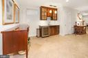 Lower Level Wet Bar and Wine Refrigerator - 3001 CATHEDRAL AVE NW, WASHINGTON