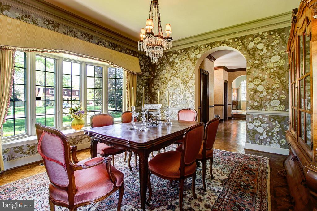 Enter Dining Room from Kitchen - Classic Elegance - 3905 BELLE RIVE TER, ALEXANDRIA