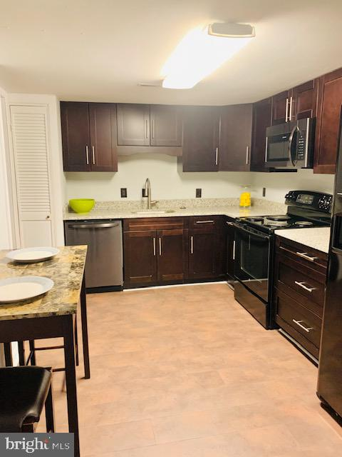 Upgraded Kitchen Cabinets with Appliance Package - 5443 EL CAMINO #5AB, COLUMBIA