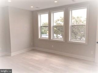 The master bedroom can fit a king size bed - 1821 I STREET NE #13, WASHINGTON