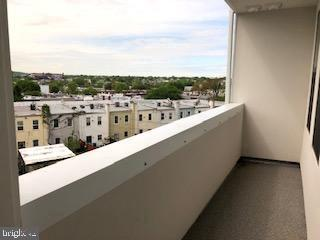 Incredible view from your private balcony - 1821 I STREET NE #13, WASHINGTON