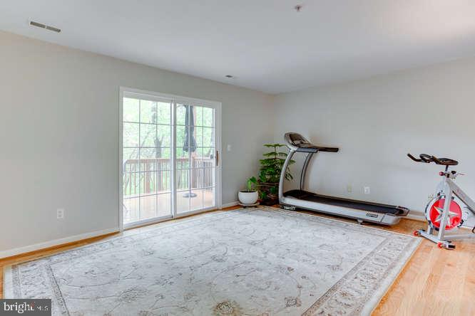 Huge rec room/family room on main level - 619 SNOW GOOSE LN, ANNAPOLIS