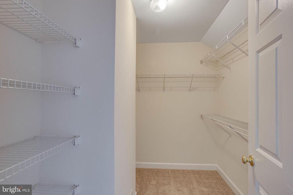Huge Walk in closet on loft level - 43771 APACHE WELLS TER, LEESBURG