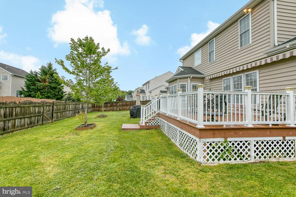 Big, Fenced Back Yard - 2829 OCONNOR CT, FREDERICKSBURG