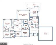 Basement Layout - 9005 FERNWOOD RD, BETHESDA