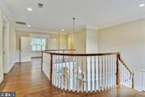 First Floor Landing view From Owner's Suite - 9005 FERNWOOD RD, BETHESDA