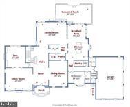 Main Floor Layout - 9005 FERNWOOD RD, BETHESDA
