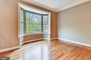 Large bay window in Living Room - 5934 MAPLEWOOD PARK PL, BETHESDA