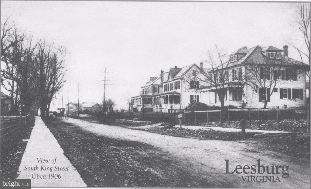 South King Street, Circa 1906 - 407 S KING ST, LEESBURG