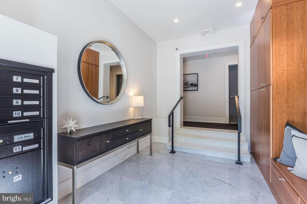 Secure lobby with camera & package lockers - 2434 16TH ST NW #301, WASHINGTON