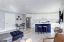 Bright, open living area - 2434 16TH ST NW #301, WASHINGTON