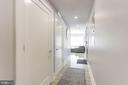 Master bedroom is separated from living area - 2434 16TH ST NW #301, WASHINGTON