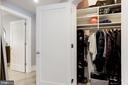Generous coat closet - 2434 16TH ST NW #301, WASHINGTON