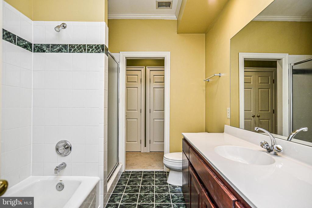 Buddy Bath with Separate Shower & Tub - 12970 WYCKLAND DR, CLIFTON