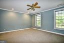 Upper Level Master Bedroom w/ Two Walk-in Closets - 12970 WYCKLAND DR, CLIFTON