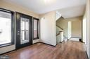 Spacious & Open Foyer w/Leaded Glass Entry Door - 305 VOYAGE CV, STAFFORD