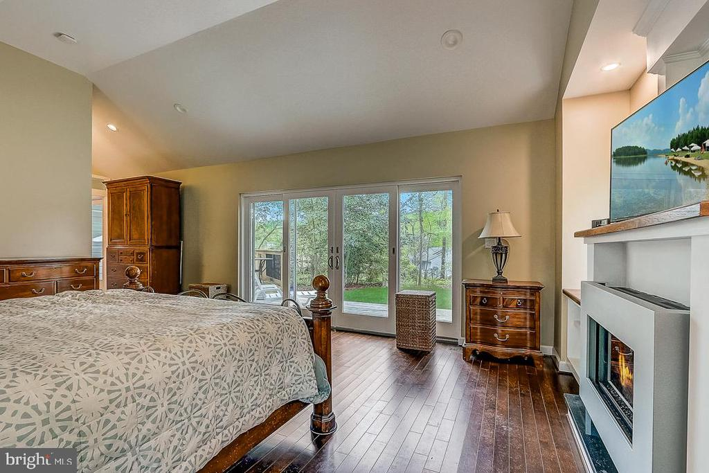 View facing out from Master - 1735 WESTMORELAND TRL, ANNAPOLIS