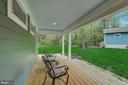 Private court yard area - 1735 WESTMORELAND TRL, ANNAPOLIS