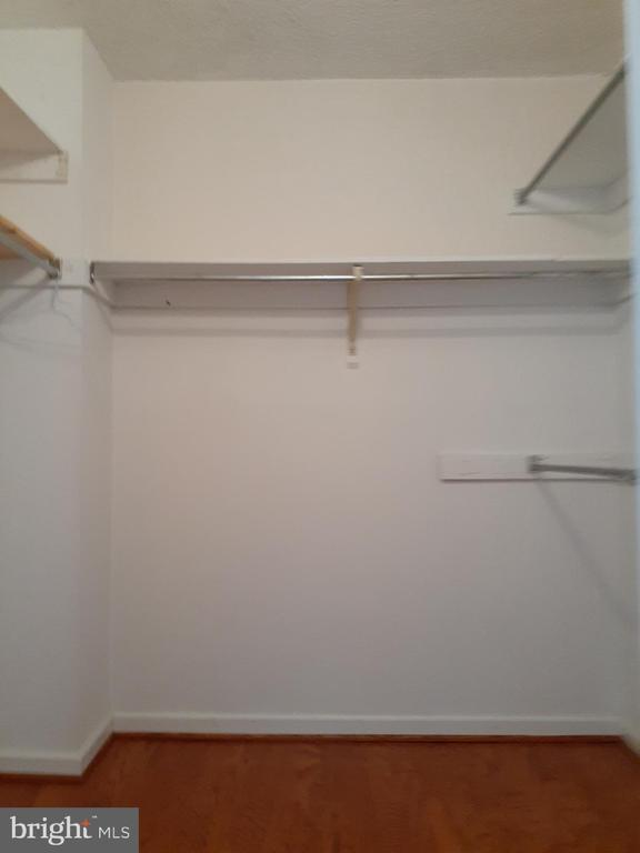 Walk in Closet (Main Bedroom, 1 of 2) - 5300 HOLMES RUN PKWY #503, ALEXANDRIA