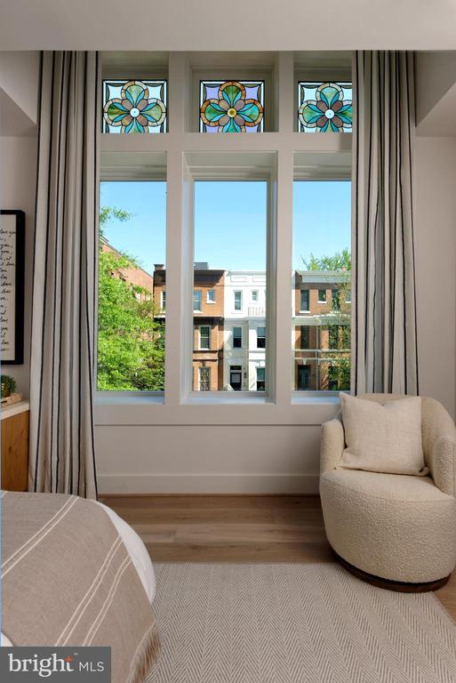 8' tall, triple window in the master. - 1015 D ST NE #A, WASHINGTON
