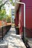 Private, gated lead walk to the front door. - 1015 D ST NE #B, WASHINGTON