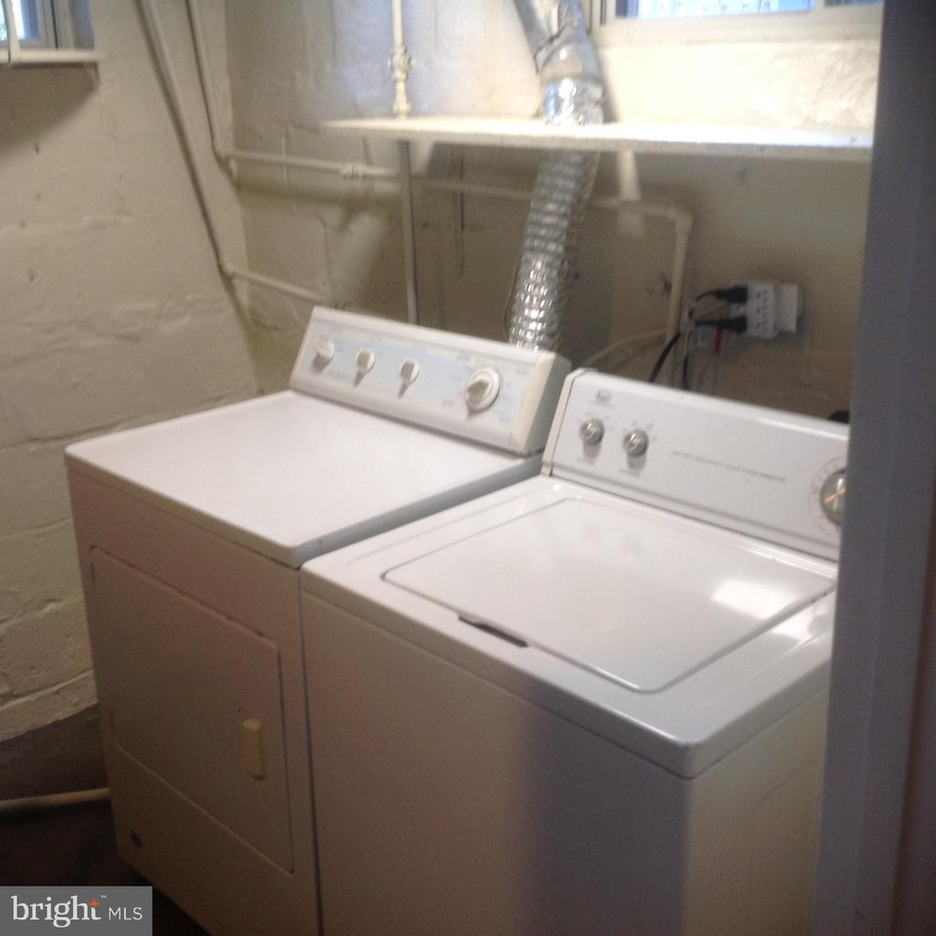 Lower Level Utility Room With Washer Dryer - 604 N EMERSON ST, ARLINGTON