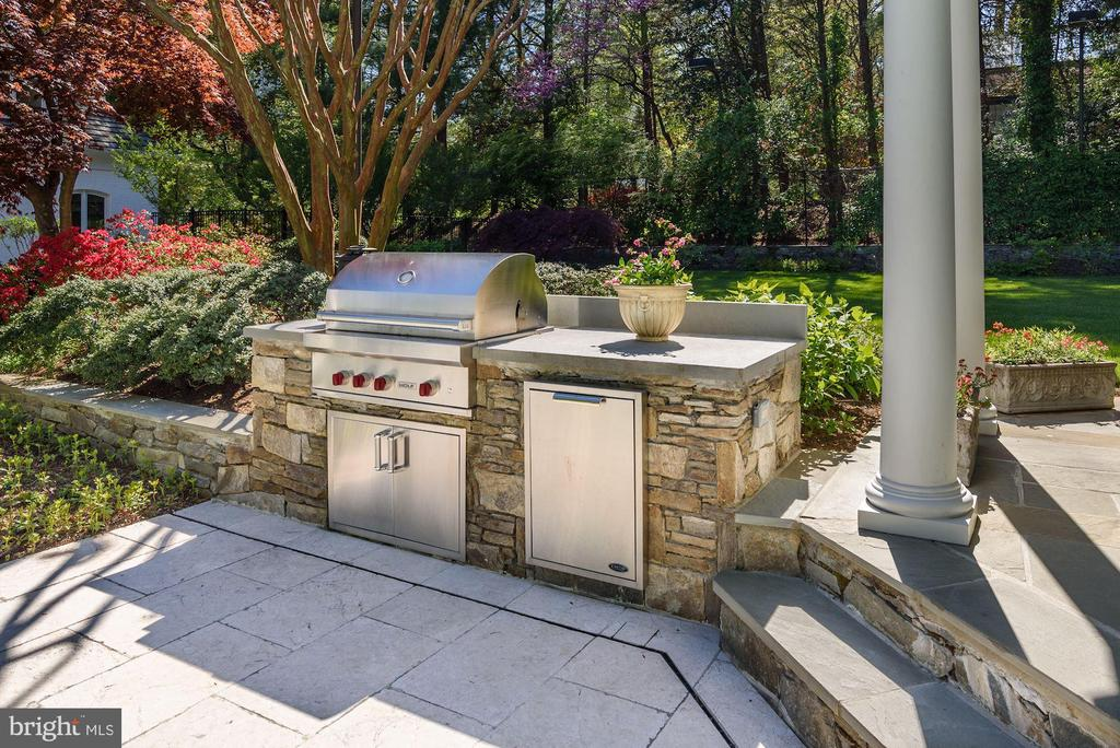 Wolf Gas Grille/Stone Cooking Station - 5321 GOLDSBORO RD, BETHESDA