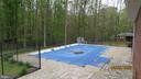 Pool and surrounding patio - 22191 BERRY RUN RD, ORANGE
