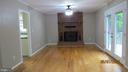 Fireplace in LR/Great room - 22191 BERRY RUN RD, ORANGE