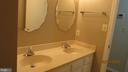 Hall bathroom - 22191 BERRY RUN RD, ORANGE