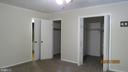 His and her walk in closets in master bedroom - 22191 BERRY RUN RD, ORANGE