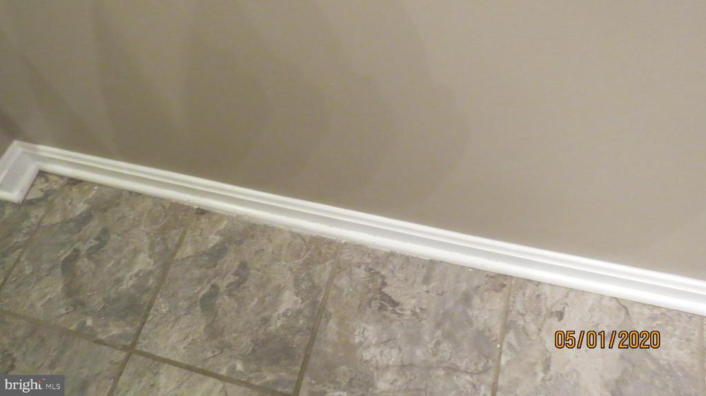 Tile in bathrooms - 22191 BERRY RUN RD, ORANGE