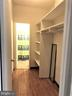 Spacious walk-in closet leading to bathroom - 1021 ARLINGTON BLVD #337, ARLINGTON