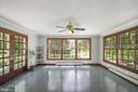 Light filled sunroom addition - 7808 CHARLESTON DR, BETHESDA