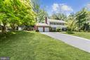 Two car garage and long paved driveway - 7808 CHARLESTON DR, BETHESDA