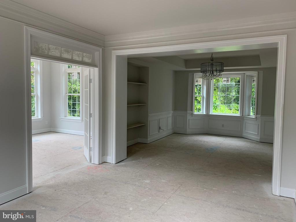 Dining Room and Conservatory - 7906 KENT RD, ALEXANDRIA