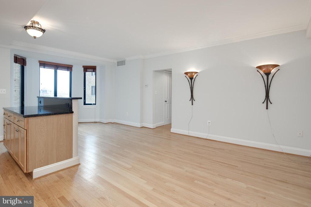 Living Room - 1701 16TH ST NW #715, WASHINGTON