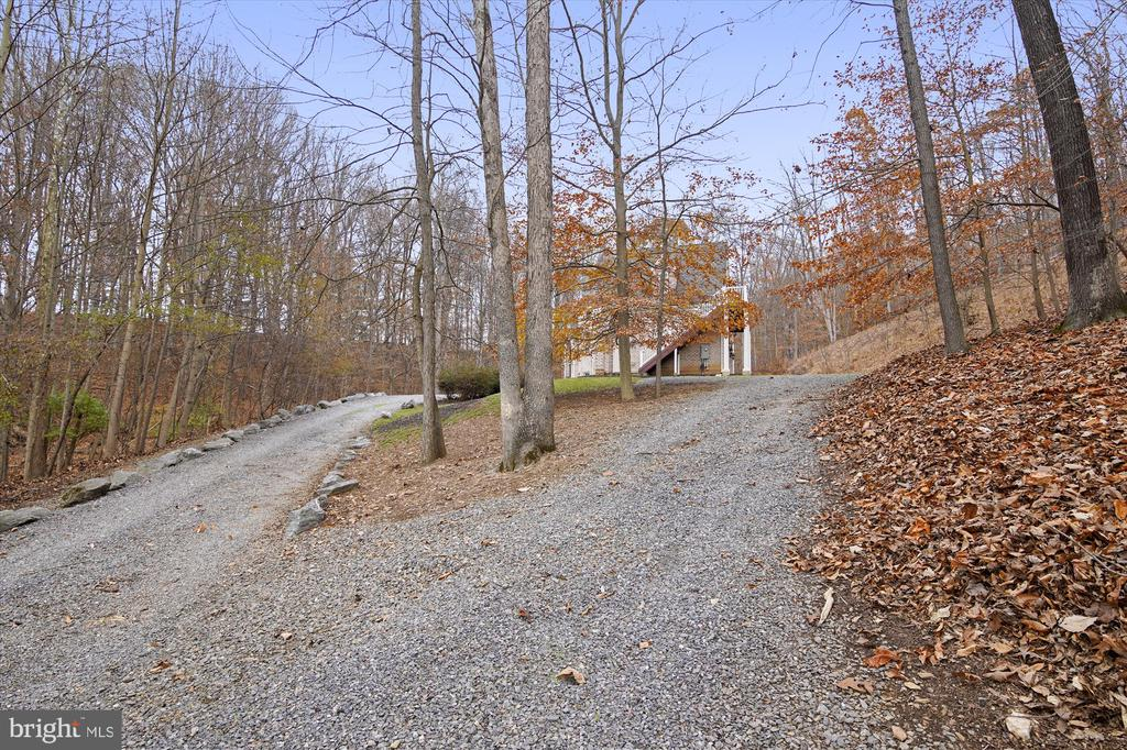 Entry Driveway - 3001 PRICES DISTILLERY RD, IJAMSVILLE