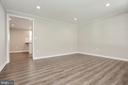 Living Room leads into Kitchen - 18850 WICOMICO RIVER DR, COBB ISLAND