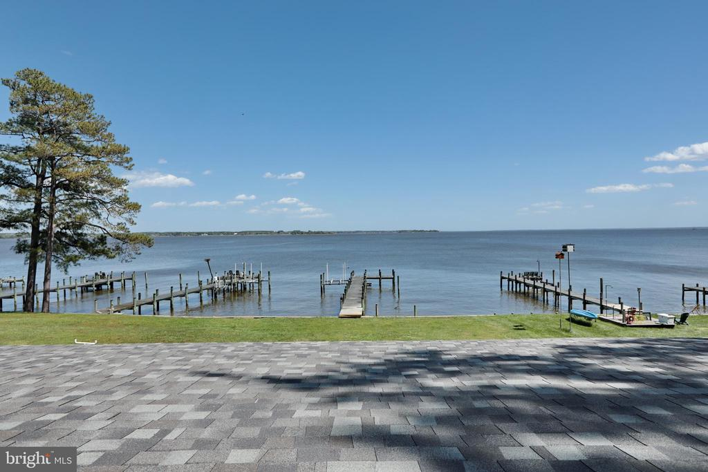 View from Upstairs - 18850 WICOMICO RIVER DR, COBB ISLAND