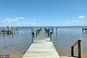 Private Pier, sandy beach - 18850 WICOMICO RIVER DR, COBB ISLAND