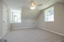 Bedroom #5 upstairs with water view - 18850 WICOMICO RIVER DR, COBB ISLAND