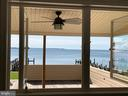 View from Kitchen - 18850 WICOMICO RIVER DR, COBB ISLAND